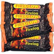 FLAMEFAST Fireglow BOX of 15 Easy Light NO MESS Smokeless Fire Logs