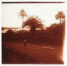 Moyen-Orient Afrique du Nord Plaque de verre stereo Positive Vintage