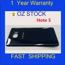 NEW 1xBack Rear Glass Housing Battery Cover Case BLUE for Samsung Note 5