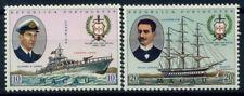 Macao 1967 Mi. 440-441 Nuovo ** 100% Nave, Vega, Fernando, Silva Junior