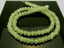 Natural Aquamarine Smooth Rondelle 6mm x 4mm Gemstone Beads Strand 15.5""