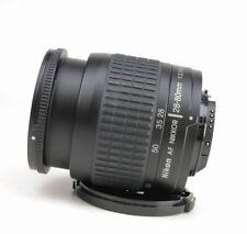 Nikon 28-80mm F3.3-5.6 G Autofocus Zoom Lens  + Sold with Front Lens Cap