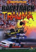Racetrack Trauma DVD Full Throttle Video Motocross Crash Race Cars Racecars Ride