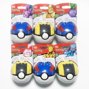 Mega Bloks Construx Pokemon Nidoran Growlithe Arba 1 figure *New Sealed* Toy