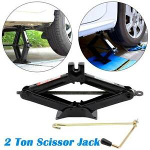 2 Ton Scissor Jack Lift Wind Up For Car Vehicle Van  Workshop Tools UK
