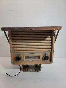 Vintage Motorola Solid State Huskee Tractor Radio AM FM No Antenna