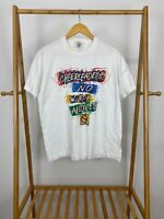 VTG 90s Cheerleaders No Wimps Allowed Single Stitch Short Sleeve T-Shirt Size L