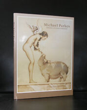 Michael Parkes# DRAWINGS STONE LITHOGRAPHS#1st, 1991,nm+