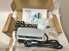 Byrne Furniture Power Distribution Unit Mini-Port Corded Silver 2-Outlet #9822