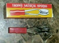 Vintage Trophy Musical Spoons Toys New in Box NIB USA No. 3470