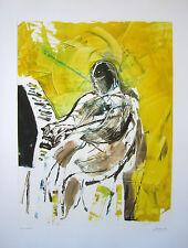 "Arthur Secunda ""Fats Domino,"" 2010 Monotype"