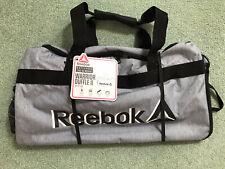 NWT Reebok Warrior Duffle II - Medium Heather Grey