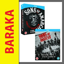 Sons of Anarchy The Complete Season 1 2 3 4 & 5 Blu ray Box Set 1 - 5 RB not DVD