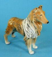 9942092 Porzellan-Figur Collie Wagner & Apel Hund H15cm