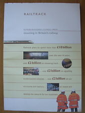 RAILTRACK NETWORK MANAGEMENT STATEMENT 1996/97 INVESTING IN BRITAIN'S RAILWAY