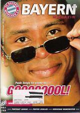 Bayern Magazin 14/52 , Bayern München - Werder Bremen , 31.03.2001
