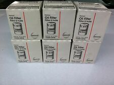 Nissan/Infiniti Oil Filter 15208-65F0E 6 pack  - Factory