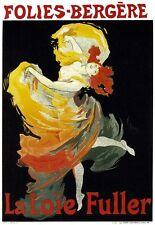 Art Deco Print Folies Bergere French Poster