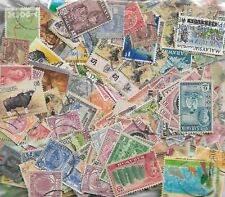 Malaysia - 600+ *USED* Stamps to 1980's Reasonable variety & condition