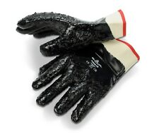 SHOWA 7166-10 FULLY COATED NITRILE GRIP GLOVES - OIL RESISTANT - DOZEN AABACO