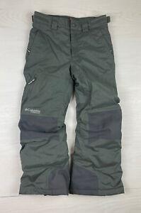 Columbia Titanium Boys Small Omni Tech Insulated Ski/Snow Pants.