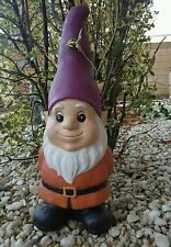 latex and fiberglass mold for plaster or concrete garden gnome.
