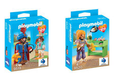 Playmobil Play and Give 9519 y 9520 pediatras Mágicos exclusivos