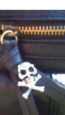 PRIGIONIERI, Rivetti teschio ossa incrociate Punk, Goth, Biker, Scarpe, Borse, pelle, giacca, Abbigliamento