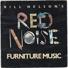 """Bill Nelson's Red Noise - Furniture Music, 7"""" red vinyl, Harvest, c.1979"""