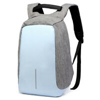 "14"" 15"" Anti-theft Laptop Backpack Bag Travel School Notebook Computer Knapsack"