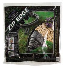 Master Mark  Zip Edge  20 ft. L x 4.5 in. H Plastic  Black  Flexible Lawn Edging