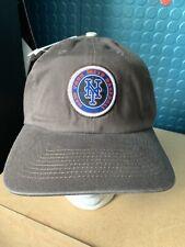 Ny Mets Brown Baseball Hat Snapback Deadstock Vintage Mlb Nwt