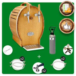Complete set Soudek 50/K, 1/5 HP, dry cooler with membrane pump, beer cooler, ta