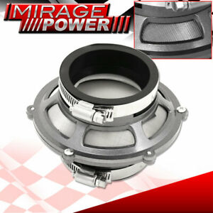"3"" Air Intake Bypass Valve Hydro Lock Protection Filter Gunmetal For Honda Civic"