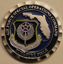 Air Force Special Operations Command Hurlburt Field  Challenge Coin / AFSOC V2C
