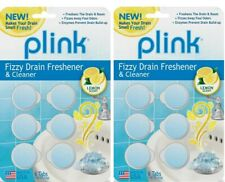 Fizzy 12-Count Lemon Scent Drain Freshener and Cleaner