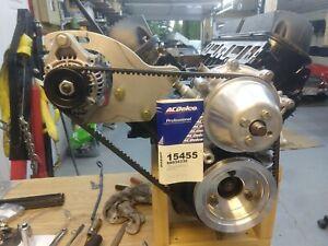 Sunbeam Tiger alloy pulley set plus alternator bracket