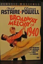 BROADWAY OF MELODY DVD Fred Astaire Eleanor Powell Classic Musical