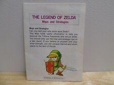 NES Nintendo The Legend of Zelda Maps and Strategies  Foldout Insert