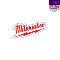 Milwaukee Tools Tool USA Red 1 4 Stickers 4x4 Inch Sticker Decal