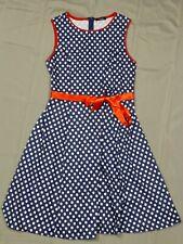 Vivance Kleid Tupfenkleid Gr. 38 merine weiß gepunktet Neu