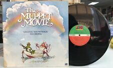 The MUPPET MOVIE - Soundtrack Record LP 1979 Jim Henson Original Motion Picture