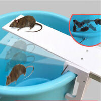 Walk The Plank Mouse Rodent Trap seesaw Auto Reset Rat Bait Catcher Poison