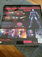 mezco one 12 Px Exclusive  Ironman Stealth Armor outer plastic removed for pics.