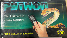 Python Auto Security System Model 900 Vintage Car Alarm NEW In Box