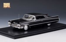 Cadillac Series 62 Convertible Black 1960 Closed STM60304 1:43 Stamp Models GLM