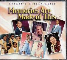 Memories Are Made Of This  RARE Readers Digest 4 CD  Box 75 Tracks w Booklet