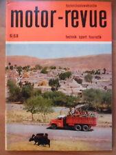 Tschechoslowakische MOTOR REVUE  6 - 1968 (1)** Motocross-WM Paul Friedrichs CZ