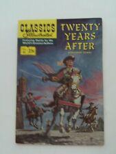 Classics Illustrated #41 - TWENTY YEARS AFTER - HRN 169 VGFN