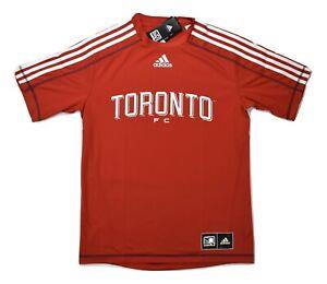 adidas MLS Mens Toronto FC Climalite Soccer Jersey NWT S, M